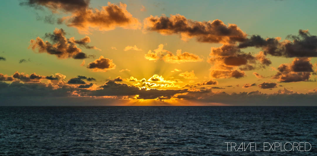 Sunset - Pacific Ocean, 25th February 2017
