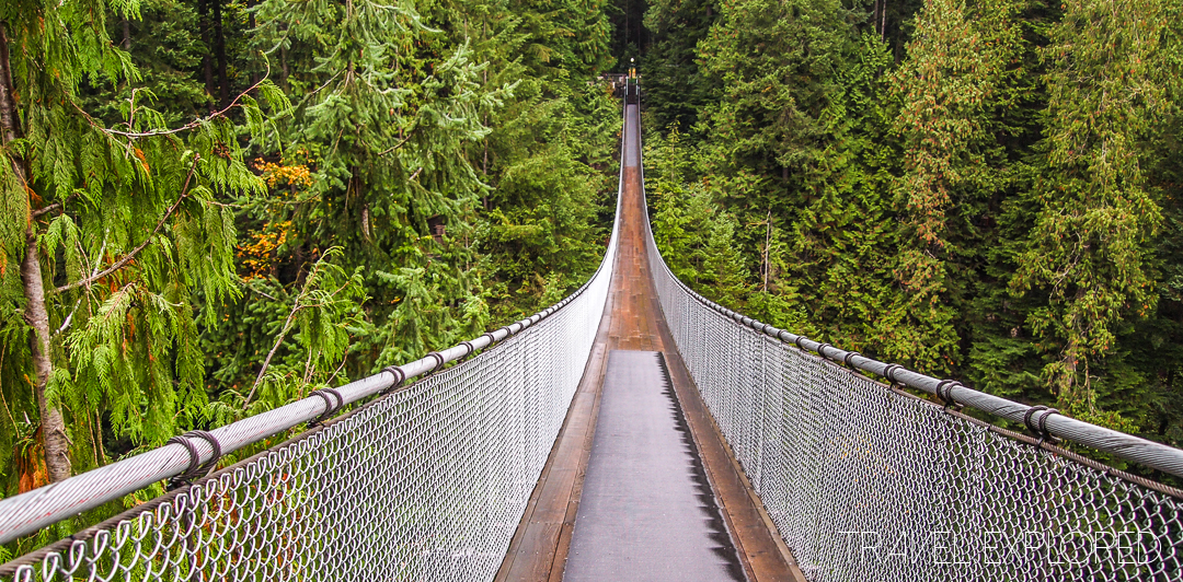 Weather - Vancouver Capilano Suspension Bridge