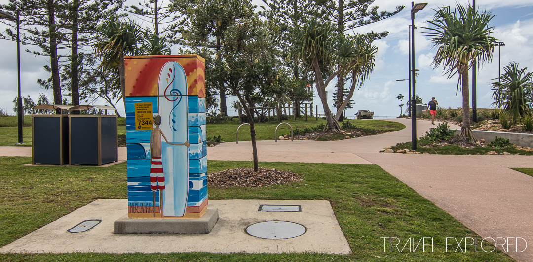 Alexandra Headland - Traffic Signal Box Art