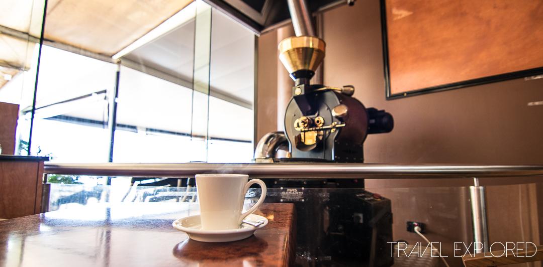 Coffee - Crusoe's Cafe