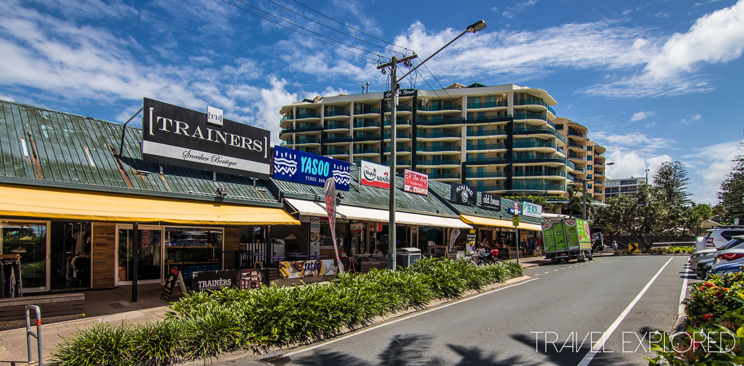 Mooloolaba - Strip Shopping & Cafes