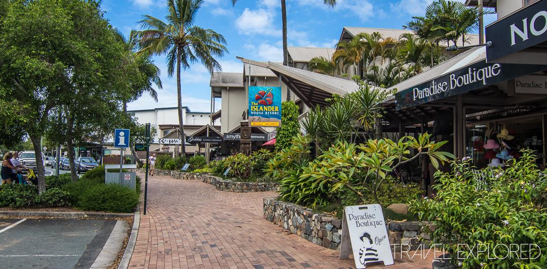 Noosaville - Resort Shopping
