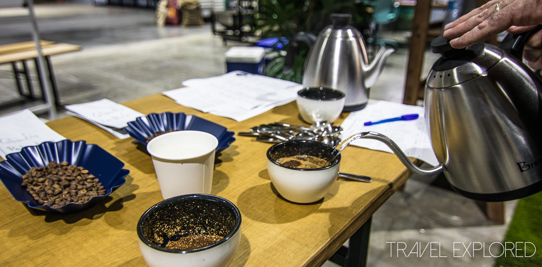 Viva Coffee Roasters - Cupping Process