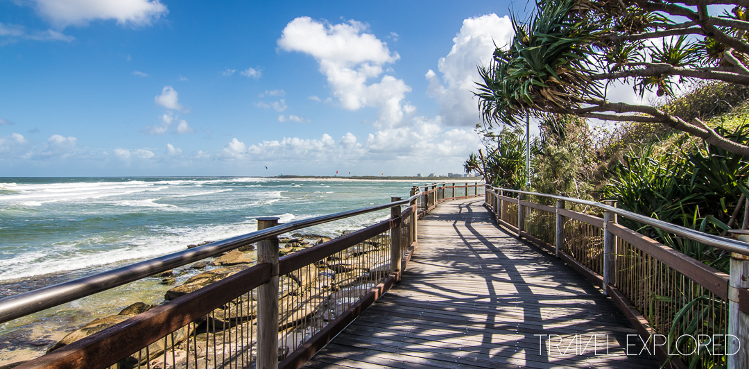 Shelly Beach & Caloundra - Kings Beach Boardwalk
