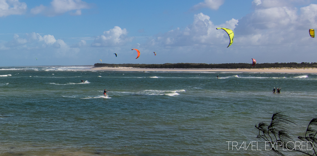Shelly Beach & Caloundra - Kite Surfers
