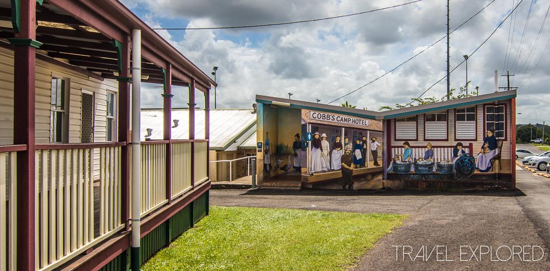 Woombya - School of Arts Toilet Block