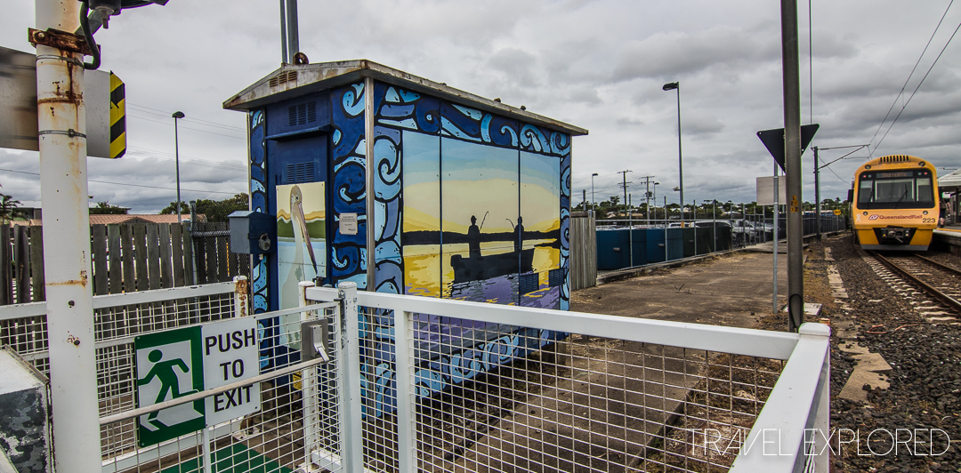 Wynnum - Painted Train box