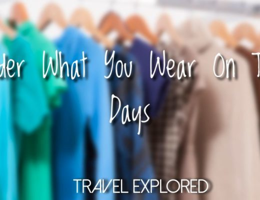 Consider What You Wear On Travel Days