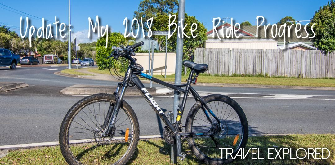 Update: My 2018 Bike Ride Progress