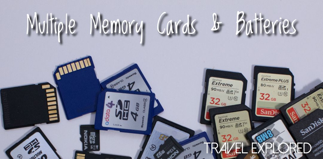 Multiple Memory Cards & Batteries