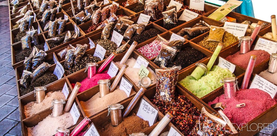 Flower Market, Sugars - Nice, France