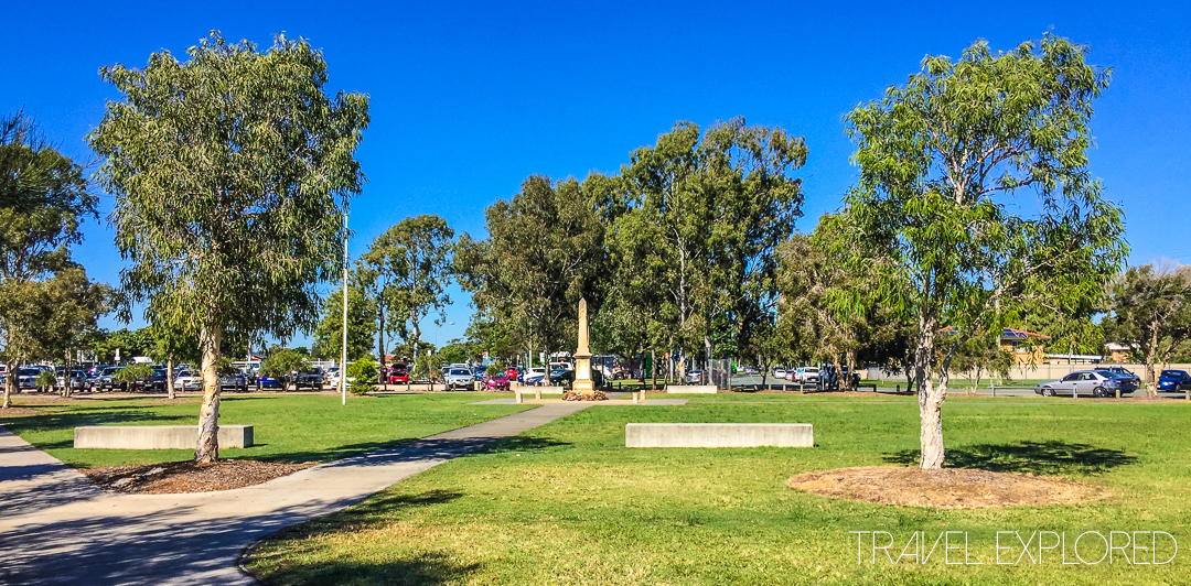 Redland Bay - Nev Stafford Park, Anzac Memorial